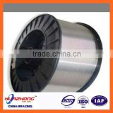 Low temperature flux cored welding wire aluminum alloy brazing wire