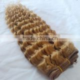 6A grade 27# curly brazilian hair bundles, 100% brazilian virgin hair weft, human hair extentions