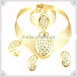 Gold Plated Stainless Steel Wire Necklace For Women