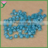 india bulk buy aaa round brilliant cut synthetic blue turquoise stone for jewelry making