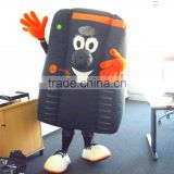 mobile Phone advertising human custom mascot costumes