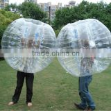 Inflatable body bumper ball bubble ball suit