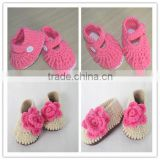 free knitting pattern baby shoes fashionable pink baby girl shoes hand made knitting infant shoes