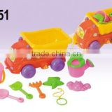 2015 Lianhua Summer Toy Set beach set toy small truck With Sand Tools