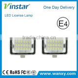Hight quality China supplier automotive accessories W204/W212/W211/C216/C207 LED License Plate Lamp
