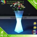 RGB color changing Decorative flower pot for wedding /Banquet /christmas decor flower pot