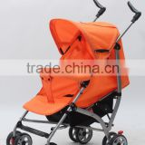 2016 High Quality Baby Stroller Leather Material Baby Stroller