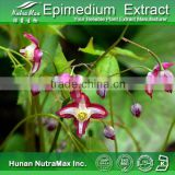 Manufacturer Supply High Quality horny goat weed extract/Epimedium Extract Icariin10~98% (Epimedium Grandiflorum)HEF