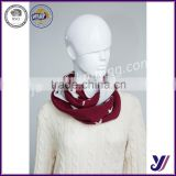Great material cheap soft ladies Chunky ncek warmer loop infinity knit pashmina scarf (Can be customized)