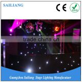 portable dj stage/led star curtain/luces para discoteca