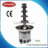 5 Ties Chocolate Fountain Machine Prices For Sale