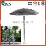 Stainless steel 304 material water park and spa pool use water mushroom shower outdoor water play equipment