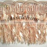 Cut Brush Chainette Fringe For Sofa Decor