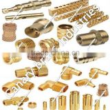Brass turned Components Such as Bathroom Fittings-Faucets,Plumbing & Sanitary fittings