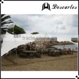 UV resistance white marquee events tents/stretch wedding tents/ 80 person carnival tents