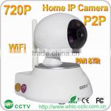 P2P 720P IP Camera two way Audio IR Night Vision video surveillance night vision home ip camera
