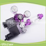 DICI CO2 regulators with solenoid and bubble counter high pressure natural gas regulator