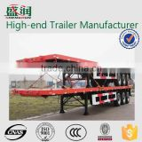 Shengrun hot sale 20ft/40ft 2 axles or 3 axles 7-13m truck trailer frame container trailer chassis