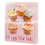 Happy Birthday Cupcake Medium Bag