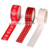 Christmas X'mas Paper Washi Tape, Masking Adhesive Roll Decorative Card Craft