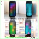 Wireless Stereo Mini Portable Flash Disco LED Light Bluetooth Speaker For Smartphone Tablet