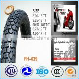 China factory for tyre manufacturer 90/90-18 motorcycle tyre motorcycle tubeless tire 90