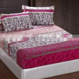 custom print 3D disposable fitted bed sheet