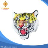 Top sale animal theme high quality cheapest customized embroidery tiger patch