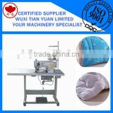 QBBBJ-1000 Trimming overlock machine,Quilt Edge Trimming,Post Bed Lockstitch Sewing Machine