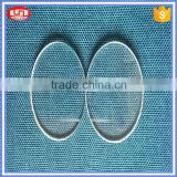 promotional round quartz glass dics