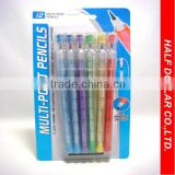 12PCS Multi-Point Mechanical Pencil/Plastic Non-Sharpener Pencil