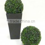 Boxwood artificial topiary grass ball
