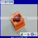 Hot sale CAT6 utp rj45 Coupler / Keystone Jack / female connector Guangzhou manufacturer
