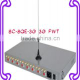 SC-8QS-3G 3G FWT 8 ports , Analog GSM Fixed wireless Terminal, 8 ports analog GSM gateway