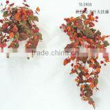 artificial grape leaves hanging autumn YL193A