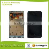 Cell Phone Spare Parts digitizer screen with frame for Nokia Lumia 800 lcd display