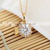 2014 spring/summer design pendant necklace for wedding	(AM-D0277-J-B)