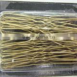 different colour metal bobby pin, pre-packed hair accessories, high quality, cheap price hair accessories