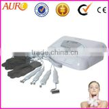 Au-8403 Portable BIO electric skin lifting machine/skin whitening beauty apparatus with magic glove