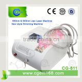 2014 arrival !!! aser i liposuction cellulite loss equipment / lipo laser / dual diode laser beauty slimming device