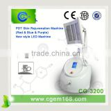 Acne Removal 2014 Hot Pdt & Led Machine For For Reduce Wrinkles Led Light Therapy For Skin