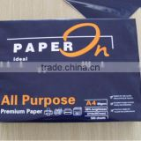 A4 Laser cut copy paper 80gsm ,whiteness 102-104% in China