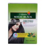 Best Super Black Hair colour cream/natural hair dye natural henna /Temporary Type wholesale hair dye