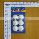 WHITE STANDARD TABLE TENNIS BALLS FOR PLAYING/CELLULOID TABLE TENNIS BALLS/6PC TABLE TENNIS BALLS