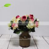 GNW FL-RS40-7CM High similation Beautiful Artificial flower silk rose for home decoration