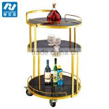 High Quality Hotel Wine Trolley/liquor Cart/wine Service Cart