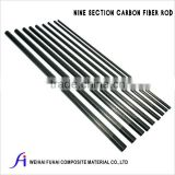 9-Section Full Carbon Fiber Telescopic Tube