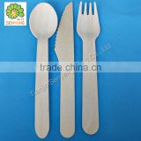 stainless steel disposable mini table food knife fork spoon
