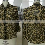 New product for women animal print blouses