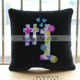 First birthday hot hix rhinestone pillow case for baby
